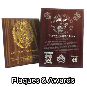 Plaques & Awards